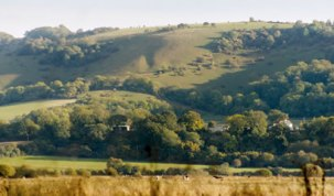 8 night walking on the south downs Eastbourne to Winchester england downland around Amberley