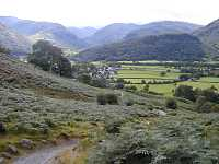 6 night Cumbria way Ulverston to Keswick england, lakes district, lakes country