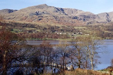 6 night walk the Cumbria way from Ulverston to Keswick england, lakes district, lakes country. Coniston old man.