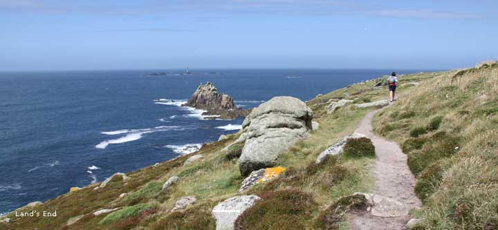 Walk The Cornwall Coast Path From St Ives To Lands End