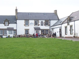 Walking the Northumberland Coast & Castle Path. Low Newton by the Sea The Ship Inn