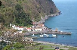 self-guided walking in england, 6 night somerset and Devon Minehead to Combe Martin england